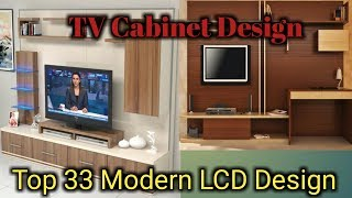 Top 33 Modern Lcd And Tv Cabinet Wall Unit Design Living  Room  Interior Decoration Ideas Pakistan
