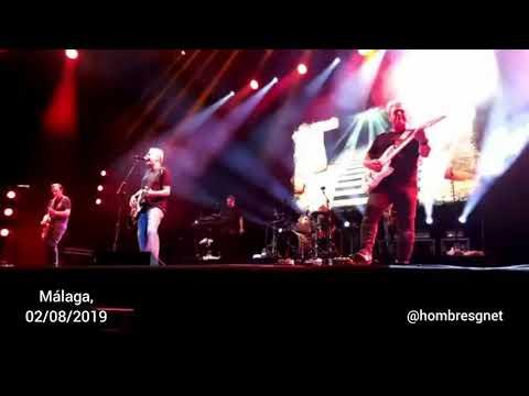 Resurrección - Hombres G concierto en Málaga 2019