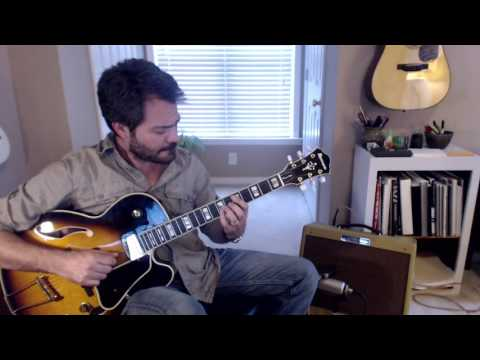 In The Wee Small Hours of The Morning - Jazz Guitar Chord Melody
