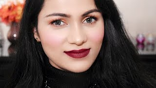 सिर्फ 5 मिनट में मेकअप Quick 5 Mins Party Makeup For Lazy Girls /Mothers In Hindi