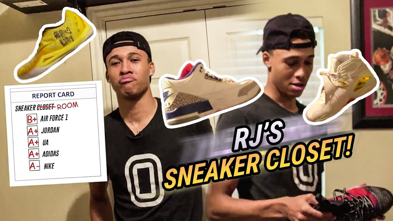 17710f6a45d RJ Hampton Doesn t Have A Sneaker Closet... He Has A SNEAKER ROOM! Top  Point Guard Got The DRIP 🔥