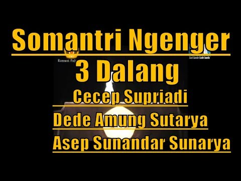 Lakon Paling Sedih Wayang Golek - Somantri Ngenger 3 Maestro Dalang