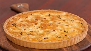 How To Make An Easy Goats Cheese And Leek Tart