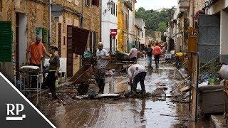 Unwetter auf Mallorca hinterlässt Zerstörung