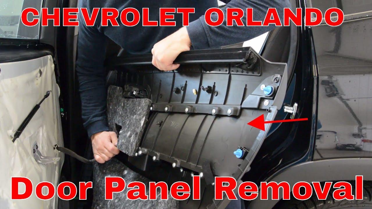Chevrolet Orlando Door Panel Removal Youtube