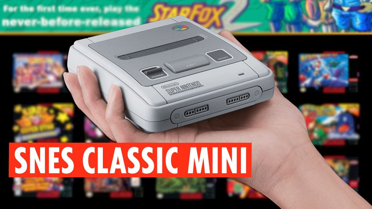 Snes Classic Mini Release Date Games Price And Stock Info You