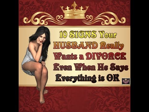 10 SIGNS Your HUSBAND Really Wants a DIVORCE from YouTube · Duration:  9 minutes 15 seconds