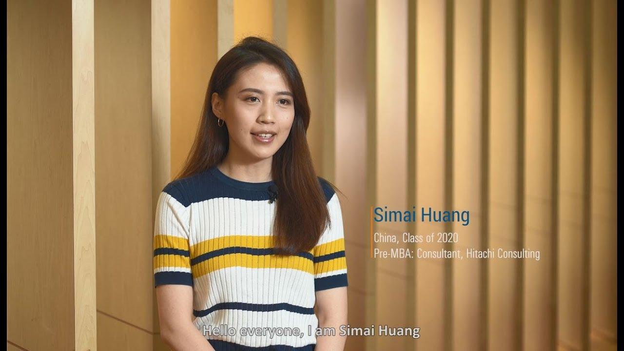 Student Sharing - Simai Huang (China)