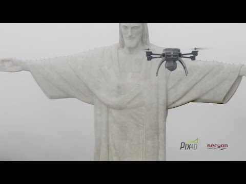 High-Resolution 3-D Scans Built from Drone Photos