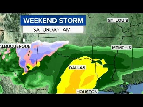Winter blast to bring rain, snow across U.S. this weekend