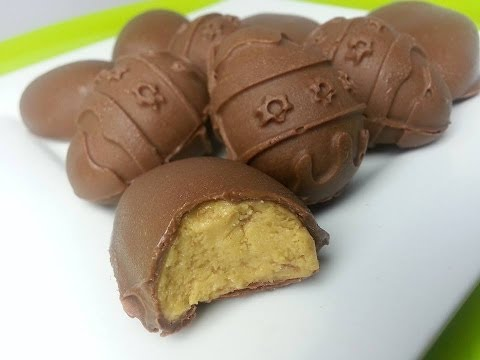 HOW TO MAKE REESE'S PEANUT BUTTER EGGS