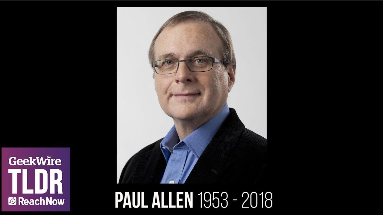 Paul G. Allen (1953-2018) - YouTube