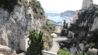 アキーラさん散策②モナコ公国・モンテカルロ駅周辺Monte Carlo station,Monaco