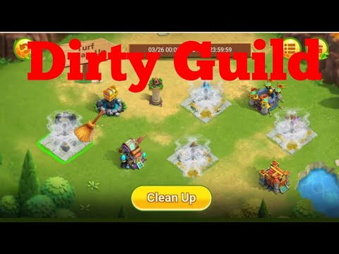 New Event | Dirty Guild | Clean Up | Castle Clash