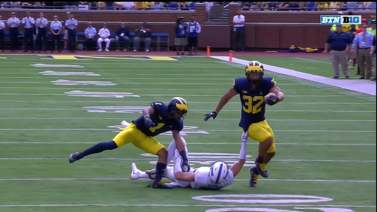 2017 Michigan Football Highlights v Air Force - YouTube