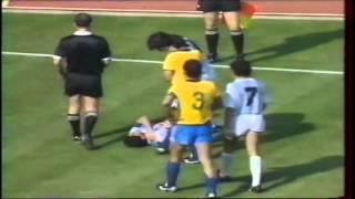 Brésil - Argentine 1990 résumé