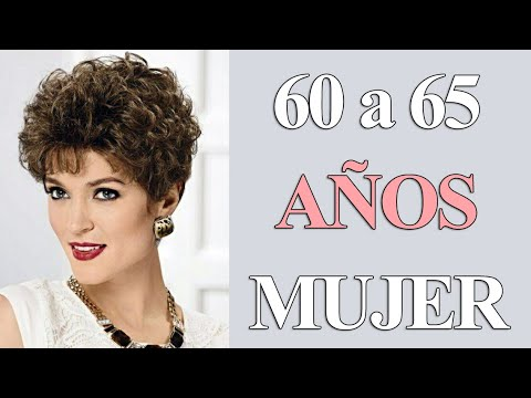 Cortes De Pelo Corto Rizado Para Mujer De 60 A 65 Años Cabello Ondulado Corto De Moda Mujer Youtube