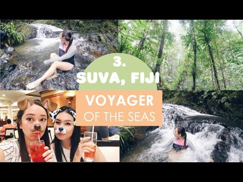 EXPLORING SUVA, FIJI & NEON PARTY - VOYAGER OF THE SEAS ❣ Vlog Day 7
