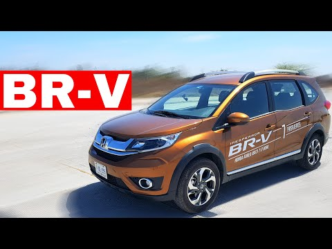 Honda BR-V 2018 3 [En Vivo] Camioneta SUV Compacta 7 Pasajeros!