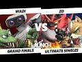 Launch Smash Ultimate - WaDi (R.O.B., K. Rool) VS Demise | ZD (Incineroar, Fox) SSBU Grand Finals