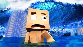 Minecraft: WHO'S YOUR DADDY?! - O BEBÊ AFOGADO NO TSUNAMI!!