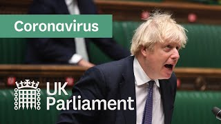 COVID-19 update by Prime Minister Boris Johnson (with British Sign Language) - 6th January 2021