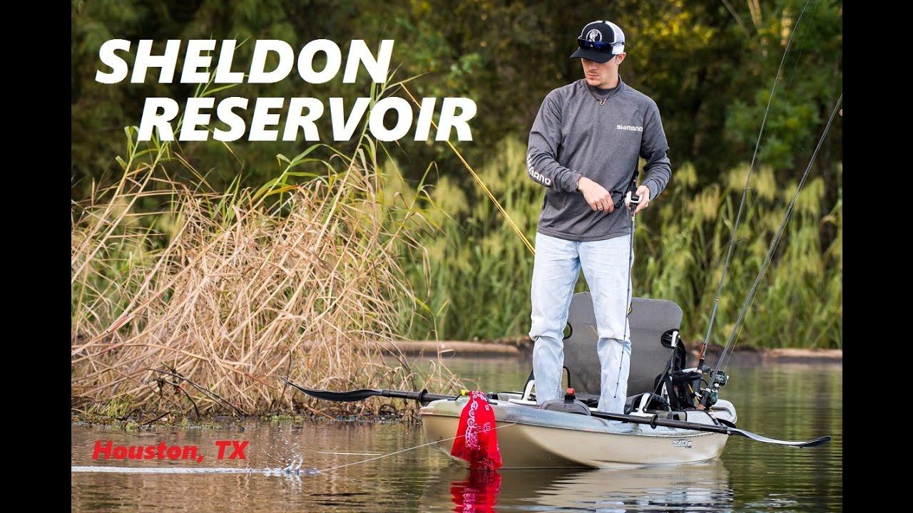 Kayak bass fishing sheldon reservoir tx i almost got for Sheldon lake fishing