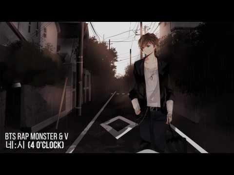 Nightcore - 네시 (4 O'CLOCK) [Rap Monster & V]