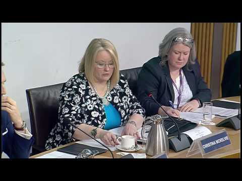 Equalities and Human Rights Committee - Scottish Parliament: 16th March 2017