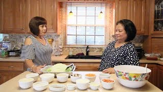 How to make stuffed cabbage rolls (filipino style)