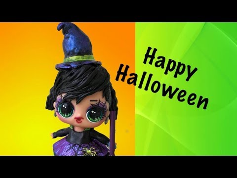 LOL Surprise Doll Custom Happy Halloween Dolly Do-Overs Series 4 Wave 2