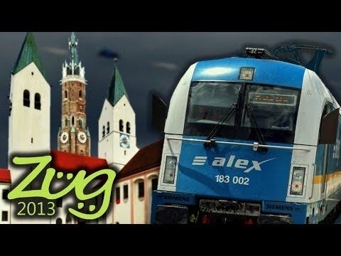Zug2013: München Hbf - Freising - Landshut - Regensburg Hbf | alex Dokumentation Teil 5