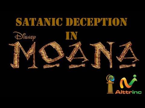 Satanic Deception In Disney Movie Moana Youtube