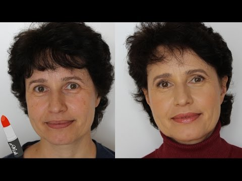 Frauen ab 40: 10 MINUTEN ALLTAGSMAKE-UP | aWish