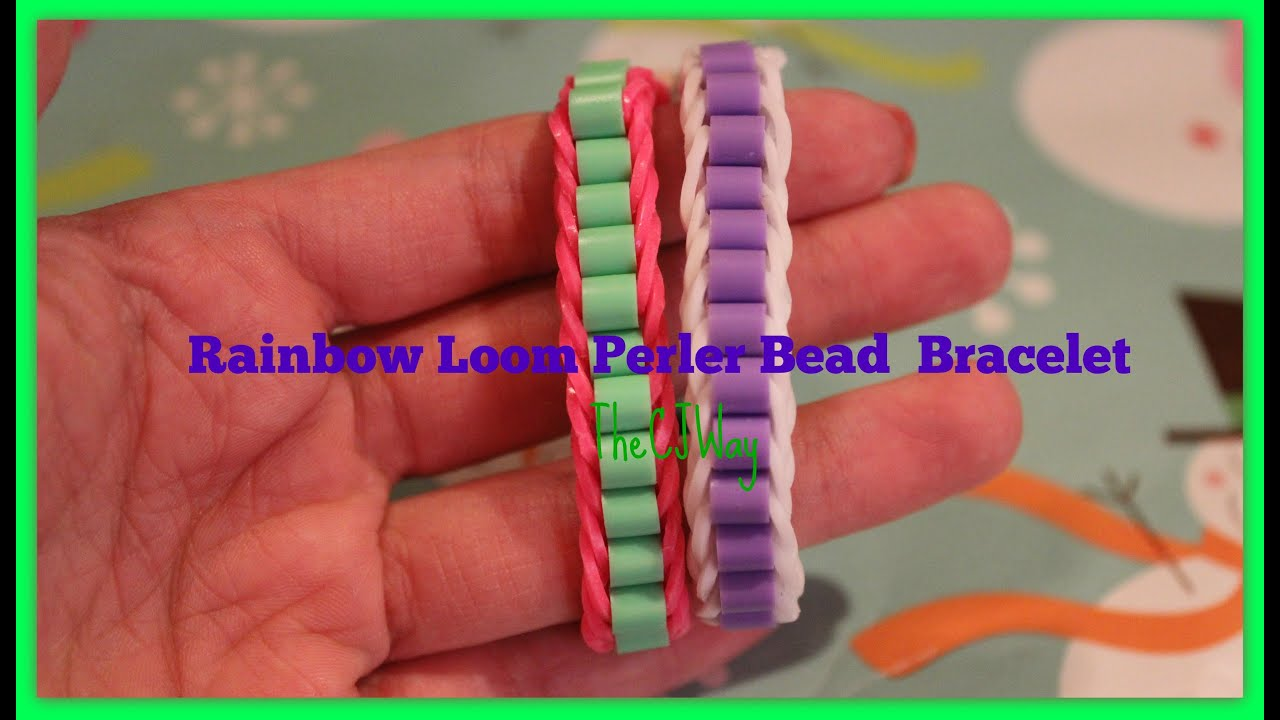 bracelet a stretch bracelets bead crafts craft are perler these tutorial such beaded kids great