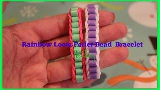 Rainbow Loom Perler Bead Bracelet Thumbnail
