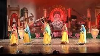 Saraswati Musical Classes(SMC) ANNUAL FUNCTION 2011 RAJISTHANI FOLK DANCE BANNA RE PERFORMANCE LKO