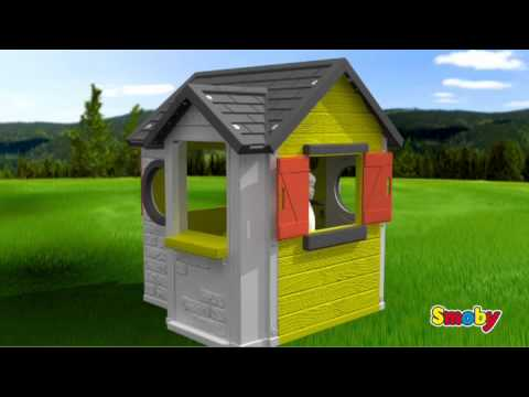 Smoby my house youtube - Maison de jardin smoby my house ...