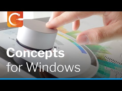 Concepts Drawing App for Windows 10 on Surface