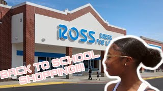 BACK TO SCHOOL SHOPPING VLOG (part 1)