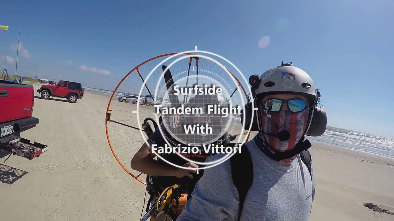 Video   Houston Powered Paragliding