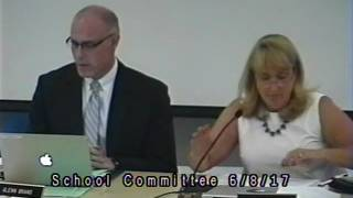 School Committee Meeting 6/8/17