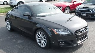 2012 Audi TT 2.0T Quattro Walkaround, Start up, Exhaust, Tour and Overview