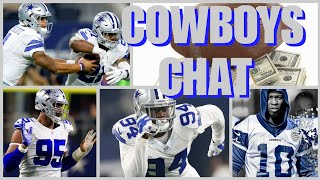 COWBOYS CHAT: Gregory Update; Dak & Play Action; Irving Update; Austin's Role; Sports Bets & More!!!