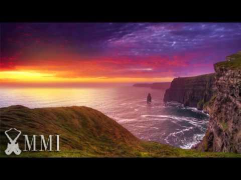Musica celta irlandesa instrumental relajante y animada con guitarra, tambores, flauta