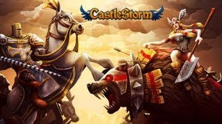 CastleStorm Xbox Live Arcade (XBLA) Gameplay Commenatry / Review (Demo)