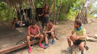 Survivor 2021   Νίκος και James αντιδρούν στις σχέσεις μεταξύ συμπαικτών τους πριν το παιχνίδι