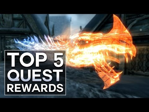 Dragonborn - Top 5 Quest Rewards (Skyrim)