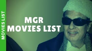 MGR Movies List | Actor MGR Filmography