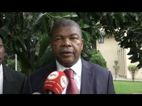 CONGO AUDIENCE PRESIDENT DENIS SASSOU N'GUESSO ET LE MINISTRE ANGOLAIS DE LA DEFENSE PASCAL GANGA N'
